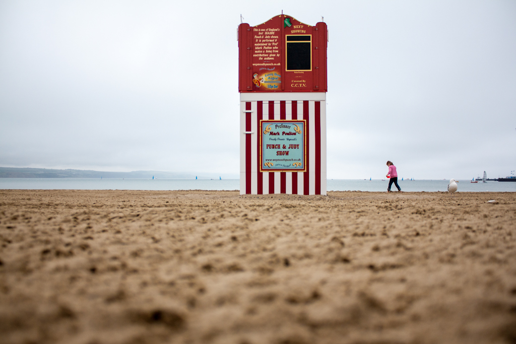 Punch and Judy - Weymouth, 2012