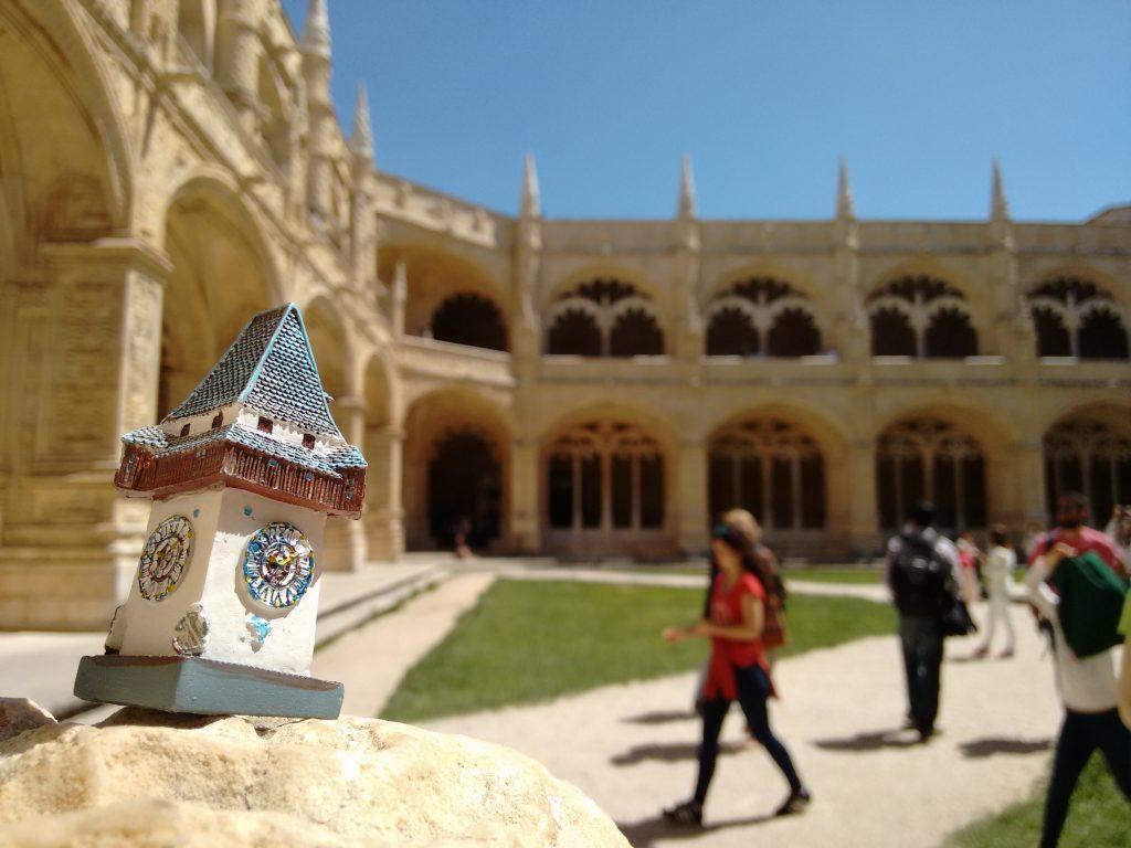 Grazer Uhrturm im Mosteiro dos Jerónimos. Lissabon, 2016