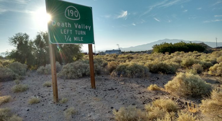 Death Valley Junction, 2016