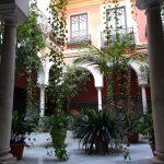 Netter Innenhof in Sevilla