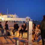 Sonnenuntergang mit Gitarrenklang in Cádiz