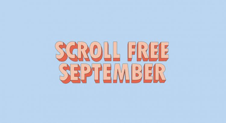 Scroll Free September